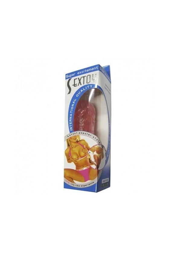 Consolador Jelly 16x4 cms