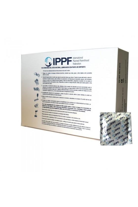 Caja de 144 Condones IPPF