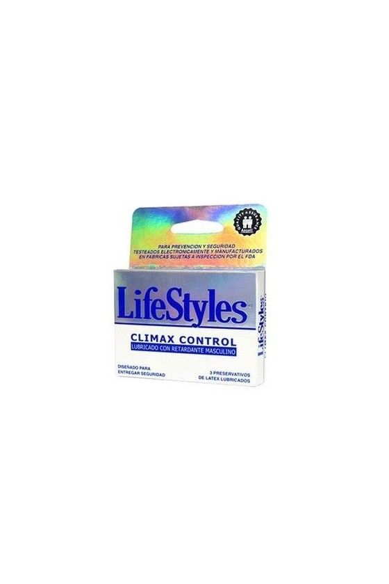 LIFESTYLES CLIMAX CONTROL