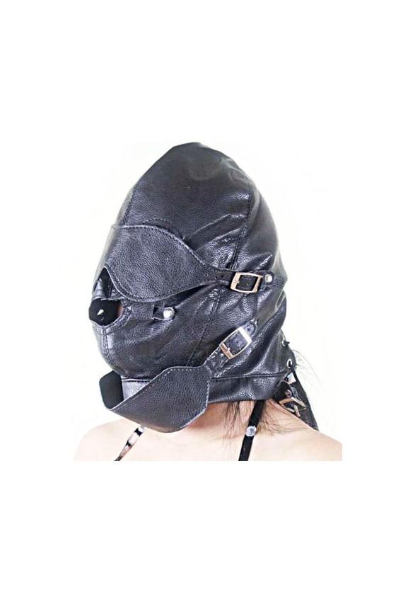 Máscara con bozal, bola y...
