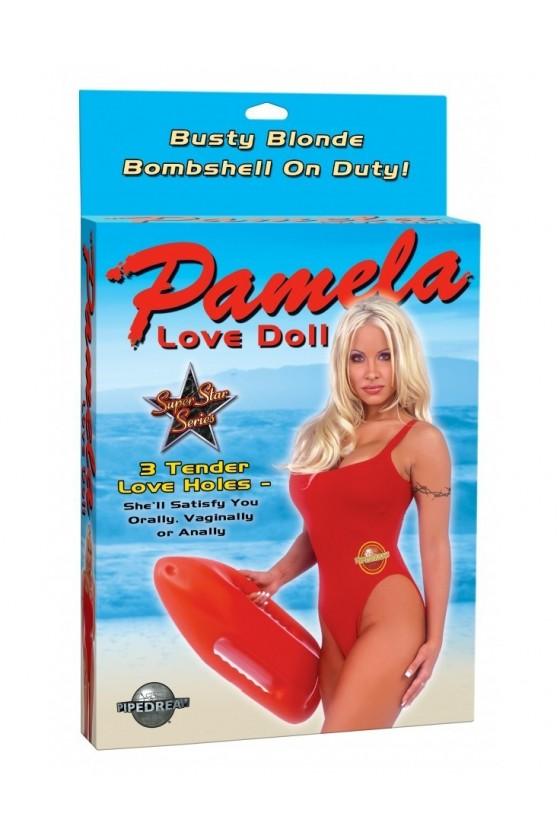Muñeca inflable Pamela love...