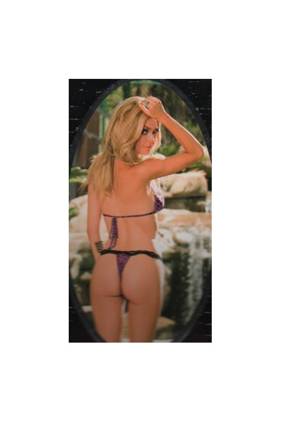 Conjunto Leopardo Rallado Tipo Bikini