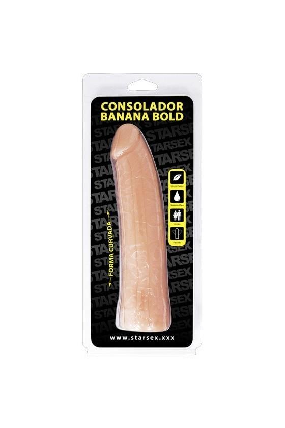 Consolador Banana Bold  18 cms