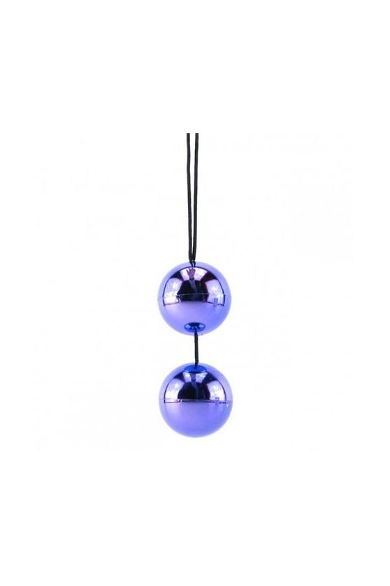 Bolas Chinas Lilas Metalizadas
