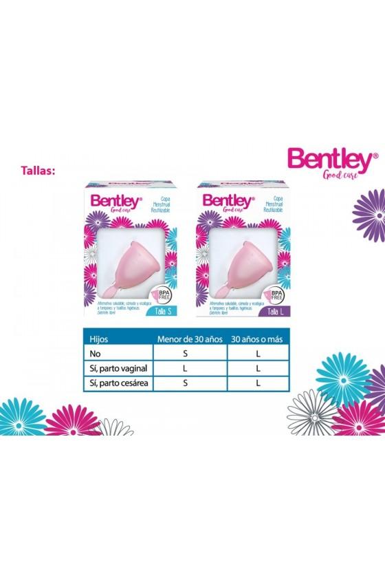 Copa Menstruales Bentley Hipoalergenica