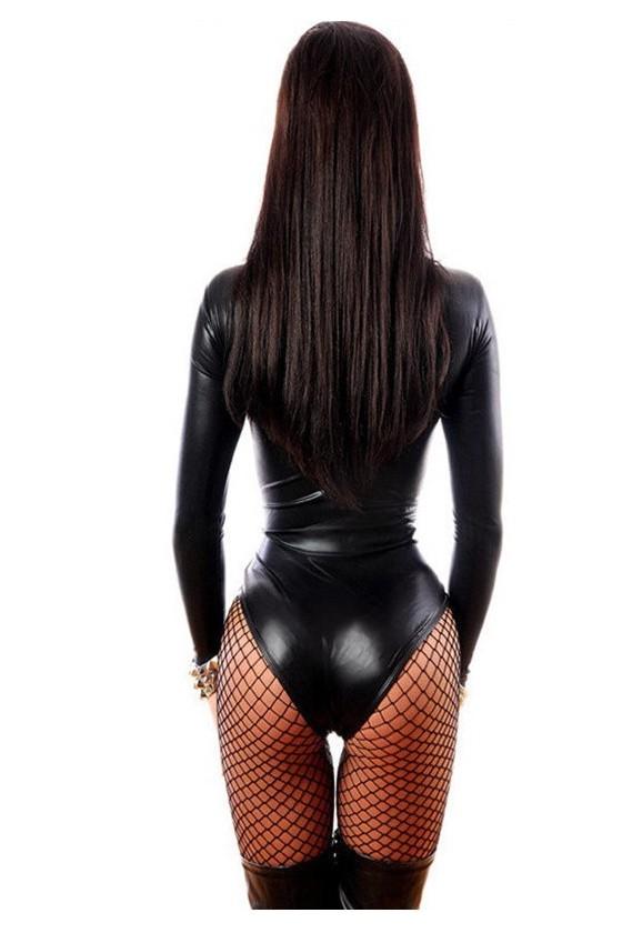 Sexy Body Negro Tipo Latex