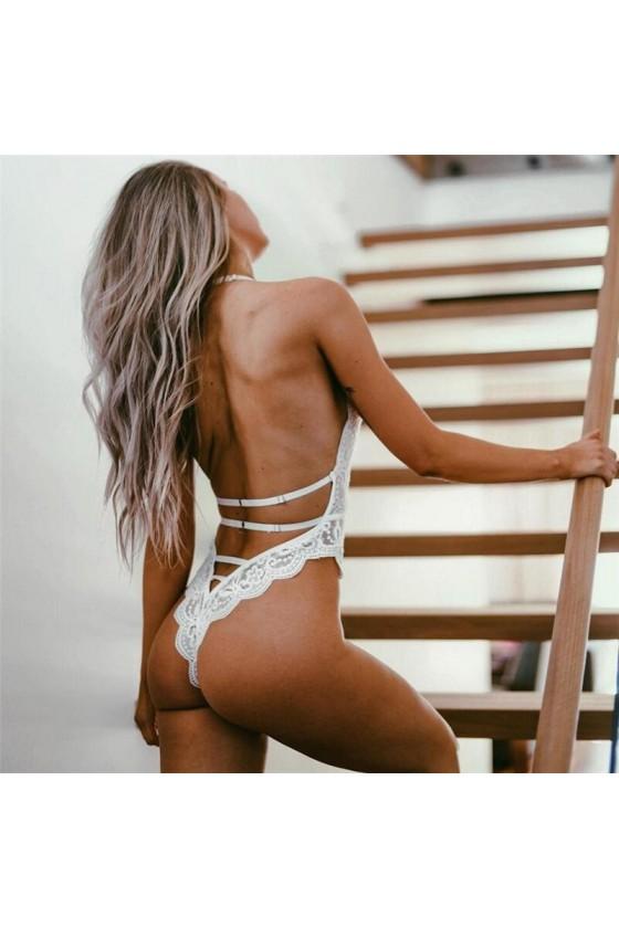 SEXY BODY ENCAJE BLANCO